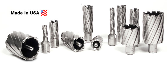 Hougen Annular Cutters for holes in all types of steel