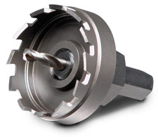 Hougen Holcutters for large diameter holes in sheet metal