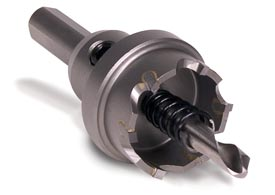 Hougen Carbide Holcutters offer extended tool life especially in harder materials such as stainless steel