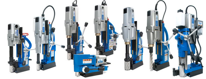 Hougen Magnetic Drills for all types of Metal Fabrication