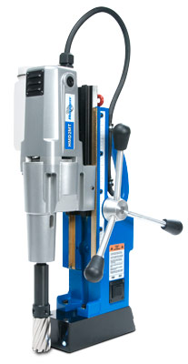 HMD2MT magnetic drill with a #2 Morse Taper arbor system