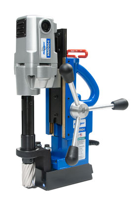 The HMD904 magnetic drill is the most popular Hougen drill for general metal fabrication