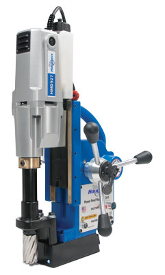 """HMD927 powerfeed magnetic drill for holes up to 1-5/8"""" in diameter"""