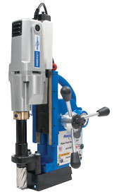 "HMD927 powerfeed magnetic drill for holes up to 1-5/8"" in diameter"